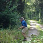 Arbeitseinsatz Neophyten Thurauen Springkraut jäten